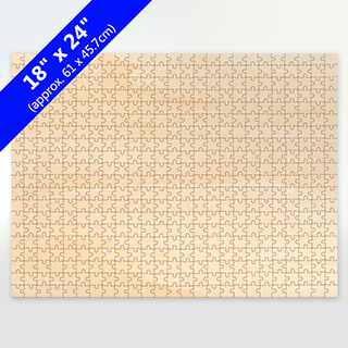 Blank 18X24 Traditional Cut Wooden Puzzle 500 Pieces