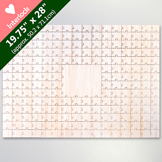 Blank 209 Heart Shaped Piece Large Party Guest Book