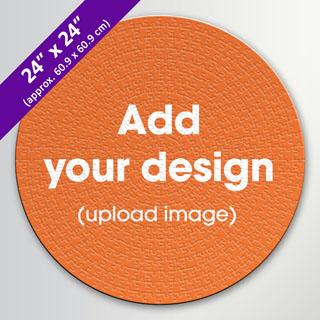 custom large round jigsaw